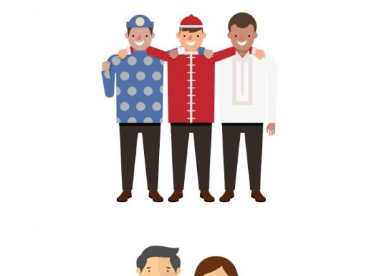 중앙선거관리위원회 _ 인포그래픽 활용 캐릭터 디자인
