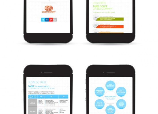 LEE&COMPANY Mobile Site Development