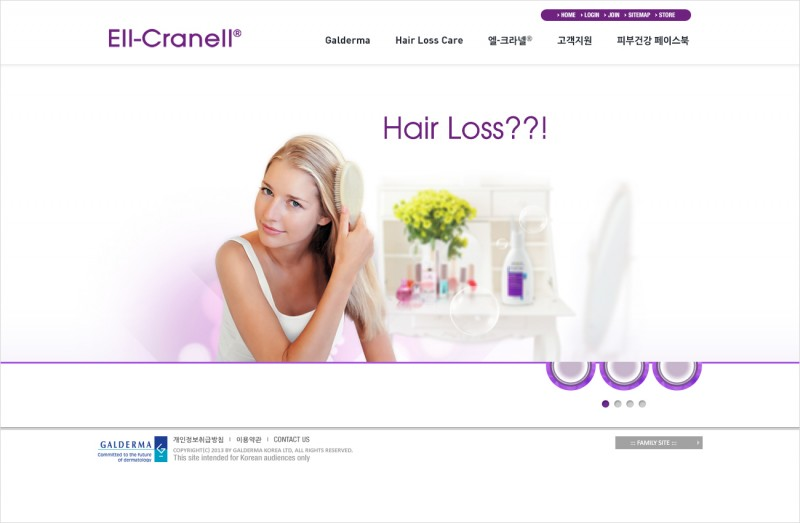 ELL-CRANELL Website Development
