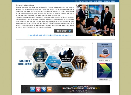 Forecast International Website Development