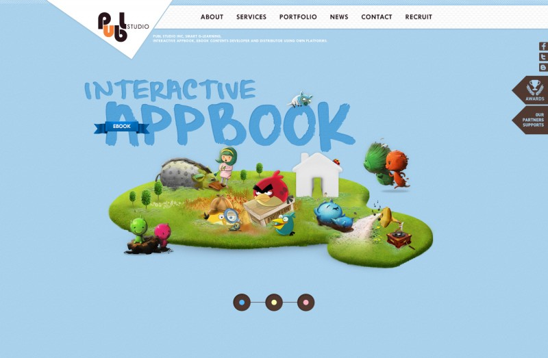 PUBL Studio Brand Website Development