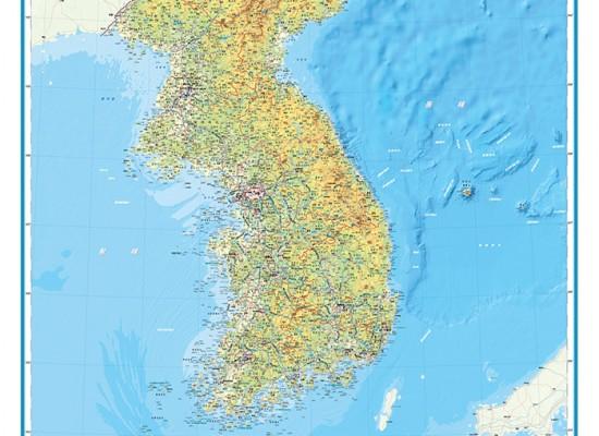 [국토지리정보원] 대한민국 전도