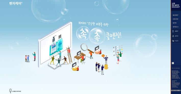 Benzacare Website Development