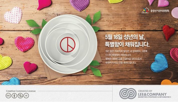 [중앙선거관리위원회] 성년의날 신문광고