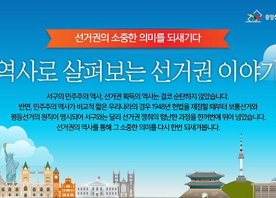 [중앙선거관리위원회] 역사로 살펴보는 선거권 이야기